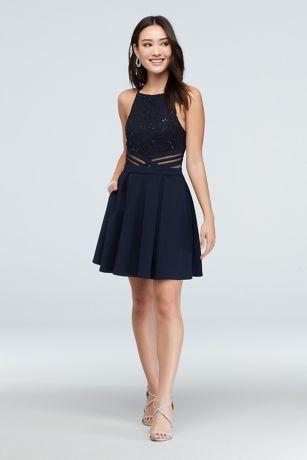 Short A-Line Halter Dress - Speechless