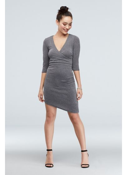 Short Sheath Elbow Sleeves Cocktail and Party Dress - Speechless