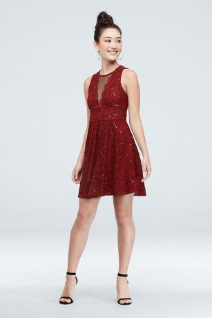 Short A-Line Dress - Speechless