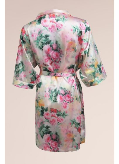 DB Exc Pastel Floral Robe - Wedding Gifts & Decorations