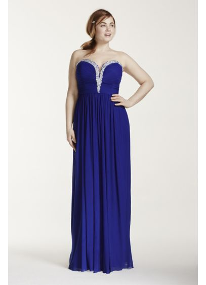 Long Sheath Strapless Formal Dresses Dress - Beyond by Jovani