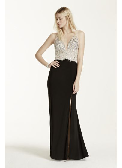 Long Sheath Tank Cocktail and Party Dress - Beyond by Jovani