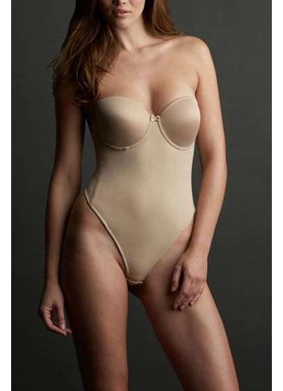 Va Bien Low Back Thong Bodysuit - Wedding Accessories