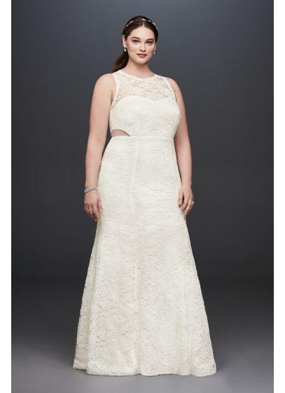 Long Mermaid/ Trumpet Casual Wedding Dress - DB Studio