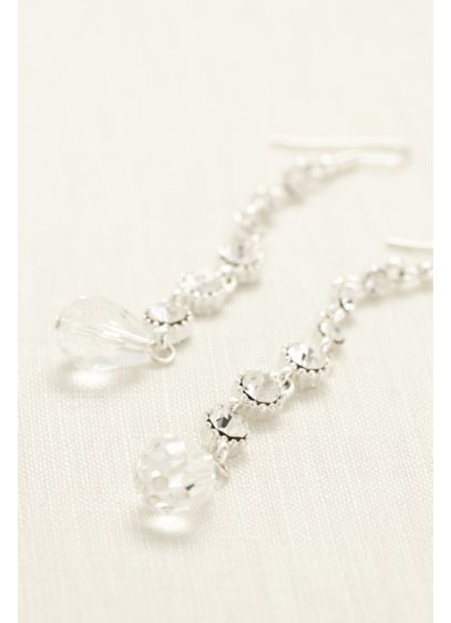 Single Strand Drop Earring - Wedding Accessories