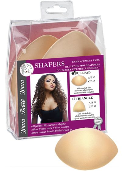 Braza Shapers Full Enhancement Pads - Amp up your look with these enhancement pads.