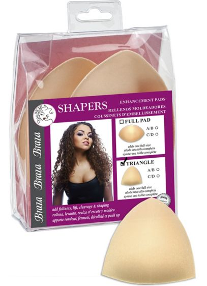 Braza Shapers Triangle Enhancement Pads - Wedding Accessories