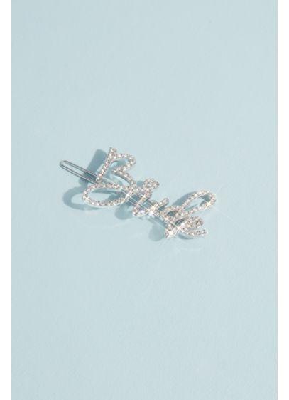 Rhinestone Bride Clip - Wedding Gifts & Decorations