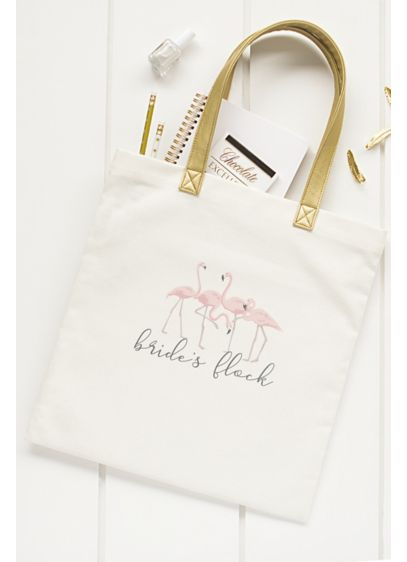 DB Exclusive Brides Flock Canvas Tote - The Bride's Flock Canvas Tote is the perfect