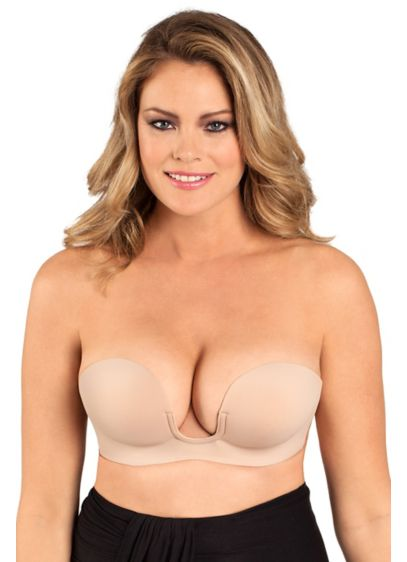 Fashion Forms Beige (Fashion Forms Voluptuous U Plunge Backless Bra)