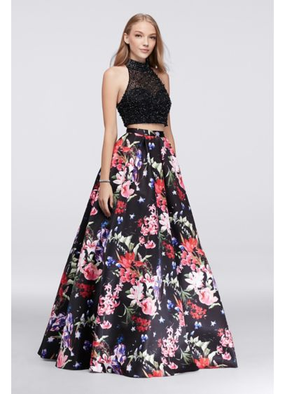 Long Ballgown Halter Formal Dresses Dress - Beyond by Jovani