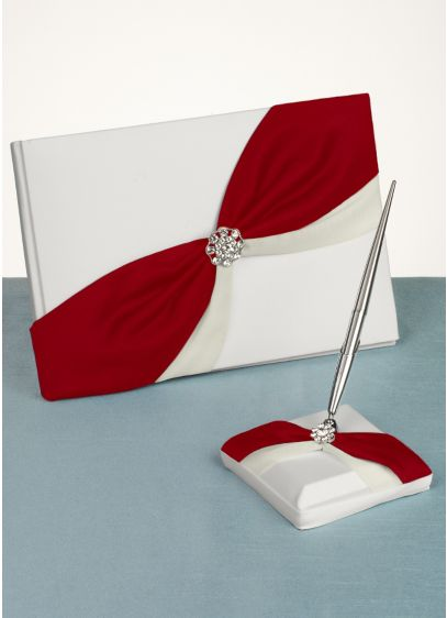 DB Exclusive Luxurious Life Guest Book and Pen Set - Wedding Gifts & Decorations