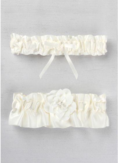 DB Exclusive Floral Desire Garter Set - Wedding Gifts & Decorations