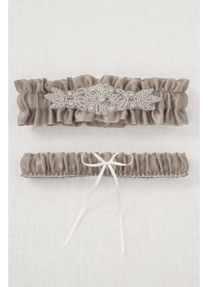 Ivory (DB Exclusive Sparkle Garter Set)