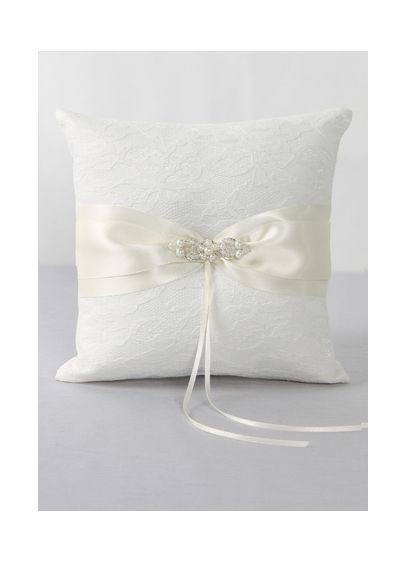 DB Exclusive Lace Elegance Ring Bearer Pillow - Wedding Gifts & Decorations