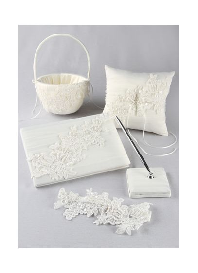 Sea of Petals Collection Gift Set - This elegant ivory collection set is a beautiful