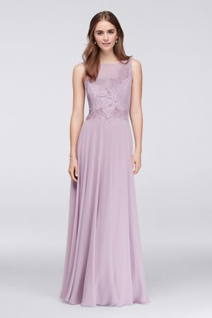 Lace Chiffon Dresses for Brides