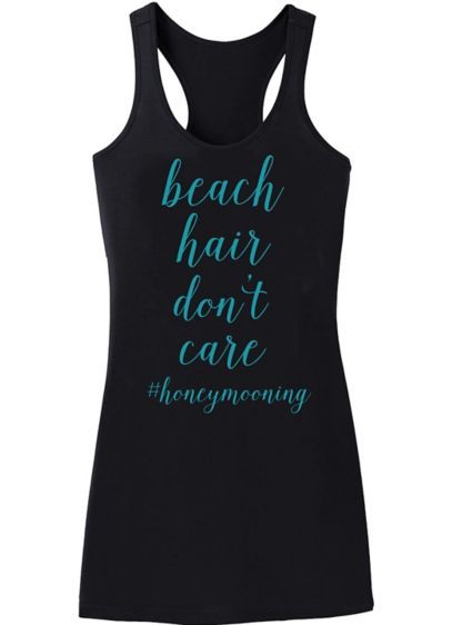 Beach Hair Dont Care Swim Cover Up - Wedding Gifts & Decorations