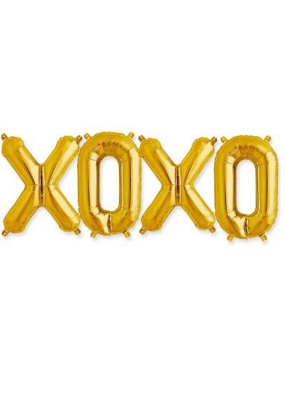 XOXO 16 Inch Balloon Kit - Wedding Gifts & Decorations