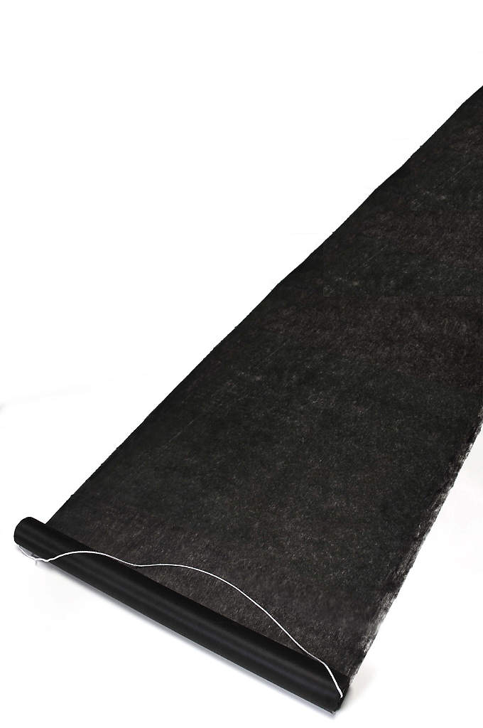 Black Aisle Runner - Add a modern, sophisticated approach to your wedding