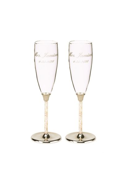 Personalized Mother of Pearl Flutes - Wedding Gifts & Decorations