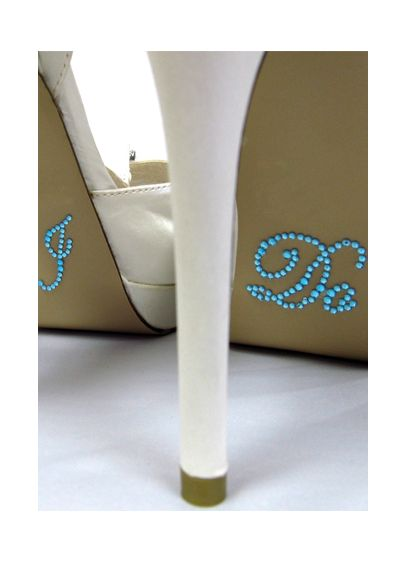 David's Bridal Black (I Do Shoe Stickers)