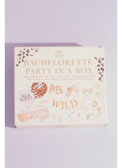 Lets Get Wild Bachelorette Party in a Box - Wedding Gifts & Decorations