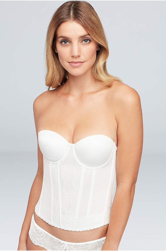 Parfait Elissa Low-Back Bustier - Perfect for a special occasion look, this low-back
