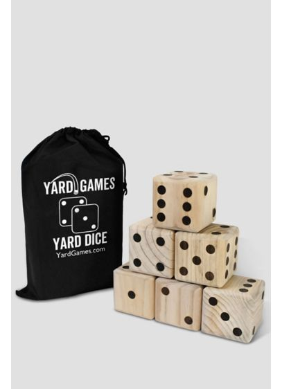 Giant Lawn Dice Game - Roll a lucky combo with this super-fun, super-sized