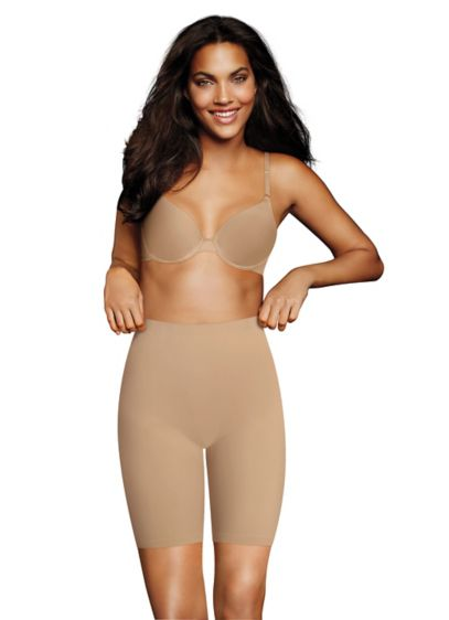 Maidenform Cover Your Bases Smoothing Slip Short - Cover your bases (and then some!) with these