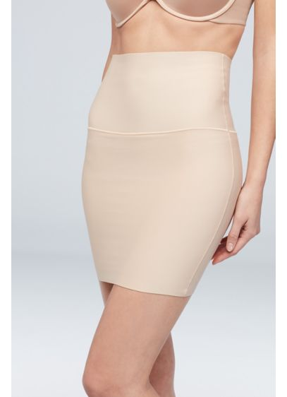 Maidenform High Waist Fitted Half Slip - Sleek and slimming, this firm-control half slip is