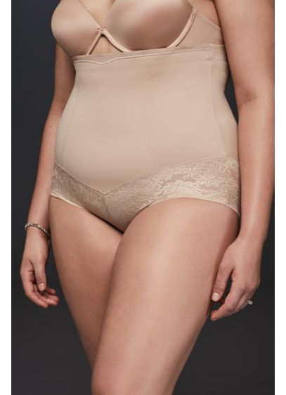 Curvy Firm Foundations HiWaist Brief - Designed specifically for curvy figures, this firm-control, high-waist
