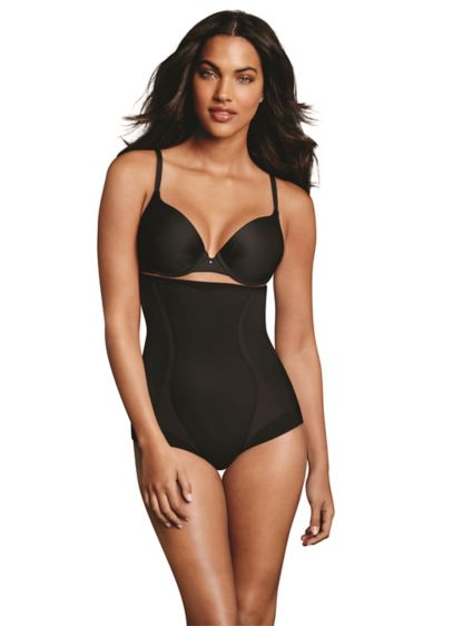 Maidenform Firm Foundations HiWaist Brief - This slimming, high-waist brief gives you confidence you