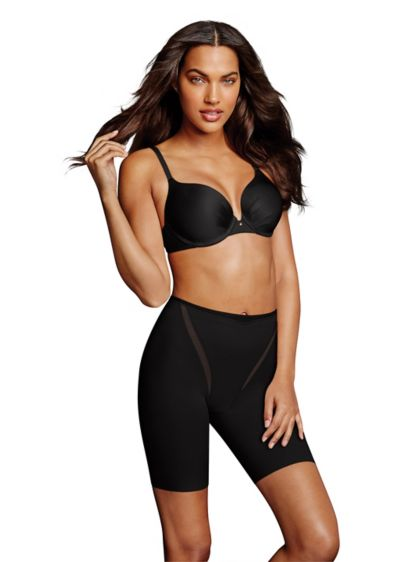 Maidenform Firm Foundations Thigh Slimmer - The firm control and power-mesh lining of this