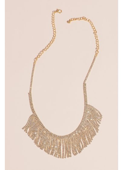 Natasha Grey (Crystal Fringe Collar Necklace)
