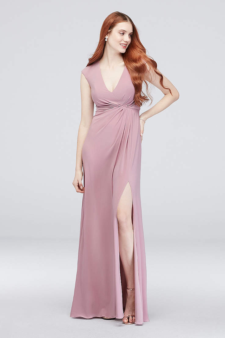 ccd48d15878a3 Blush Bridesmaid Dresses - Blush Pink Colored Dresses | David's Bridal
