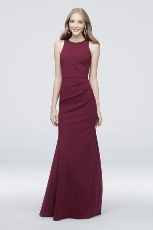 Long Mermaid/ Trumpet Sleeveless Dress - DB Studio
