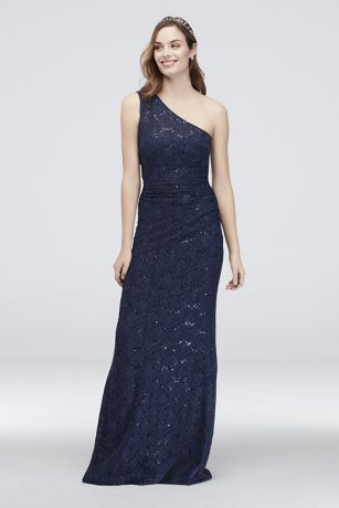 Long Mermaid/ Trumpet One Shoulder Dress - DB Studio