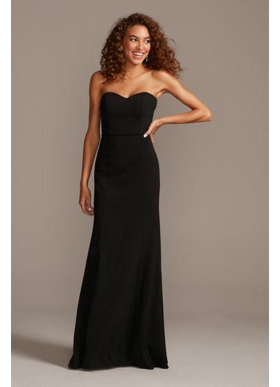 Long Blue DB Studio Bridesmaid Dress