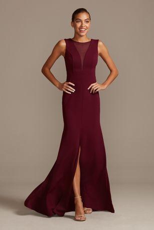 DB Studio Long Bridesmaid Dress