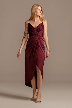 Soft & Flowy DB Studio Midi Bridesmaid Dress
