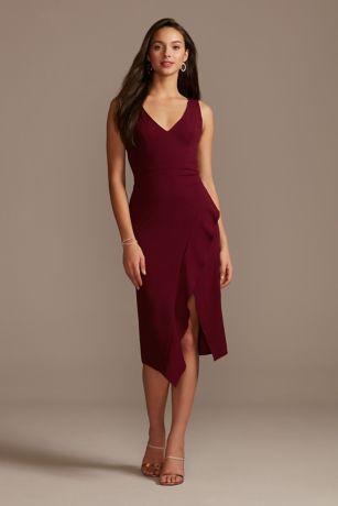 DB Studio Midi Bridesmaid Dress