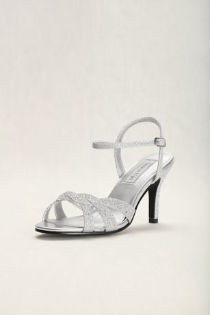 Touch Ups Grey;Ivory Heeled Sandals (Touch Ups Dulce Strappy Sandal)
