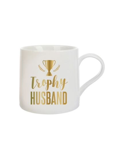 Trophy Husband Mug - Your sweetie will love sipping his coffee or