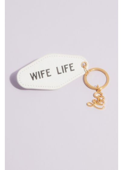 Wife Life Hotel Style Key Ring - Taking inspiration from vintage hotel room keys, this
