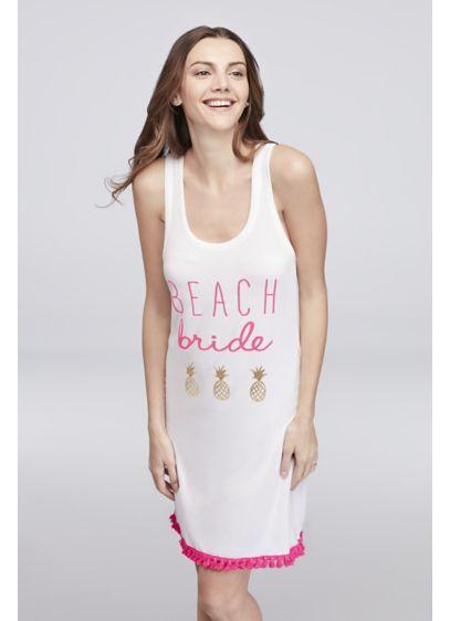White (Beach Bride Cover Up)