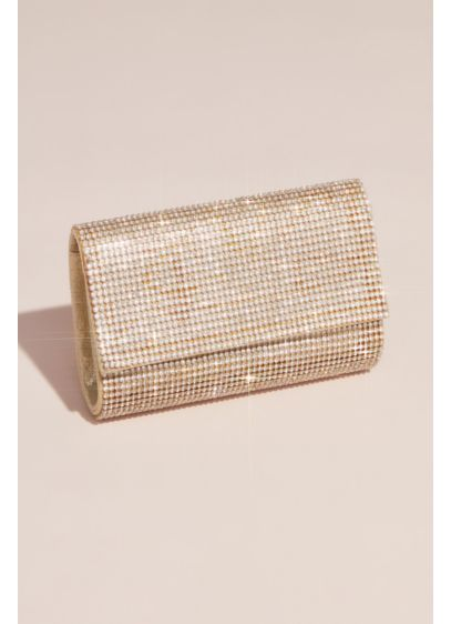 Crystal Mesh Clutch - Wedding Accessories