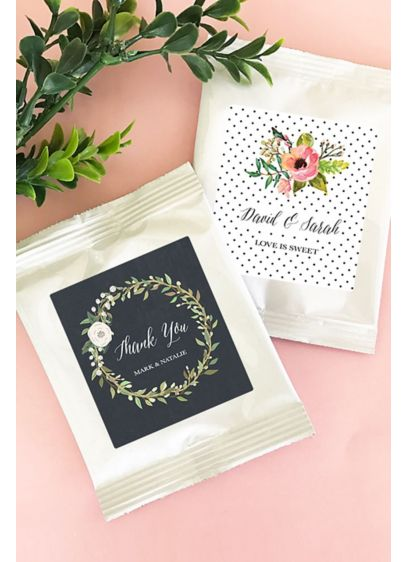 Personalized Floral Garden Lemonade Favors - Wedding Gifts & Decorations