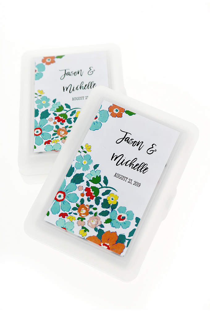 Personalized Exclusive Floral Playing Cards - Bring the fun to any event with these