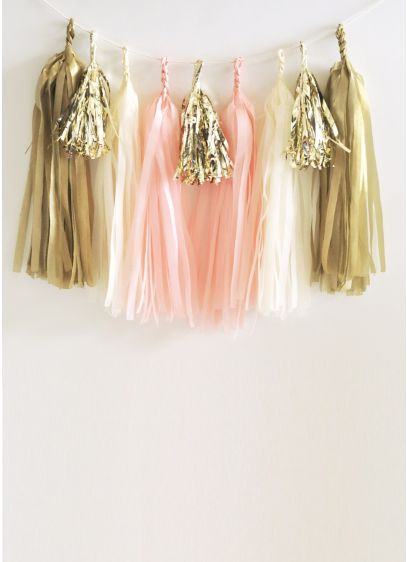 DIY Tassel Garland Kit Set of 20 - Add a colorful backdrop to your celebration with
